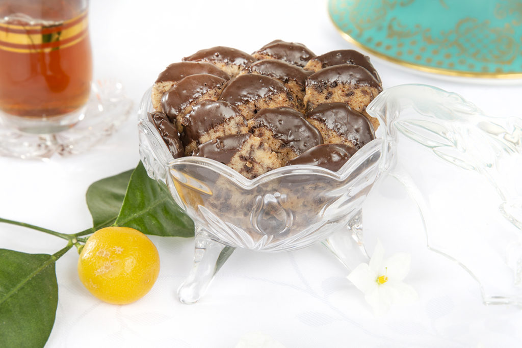 Schoko-Orangen Kekse